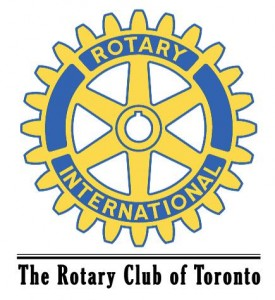 Rotary logo with club name